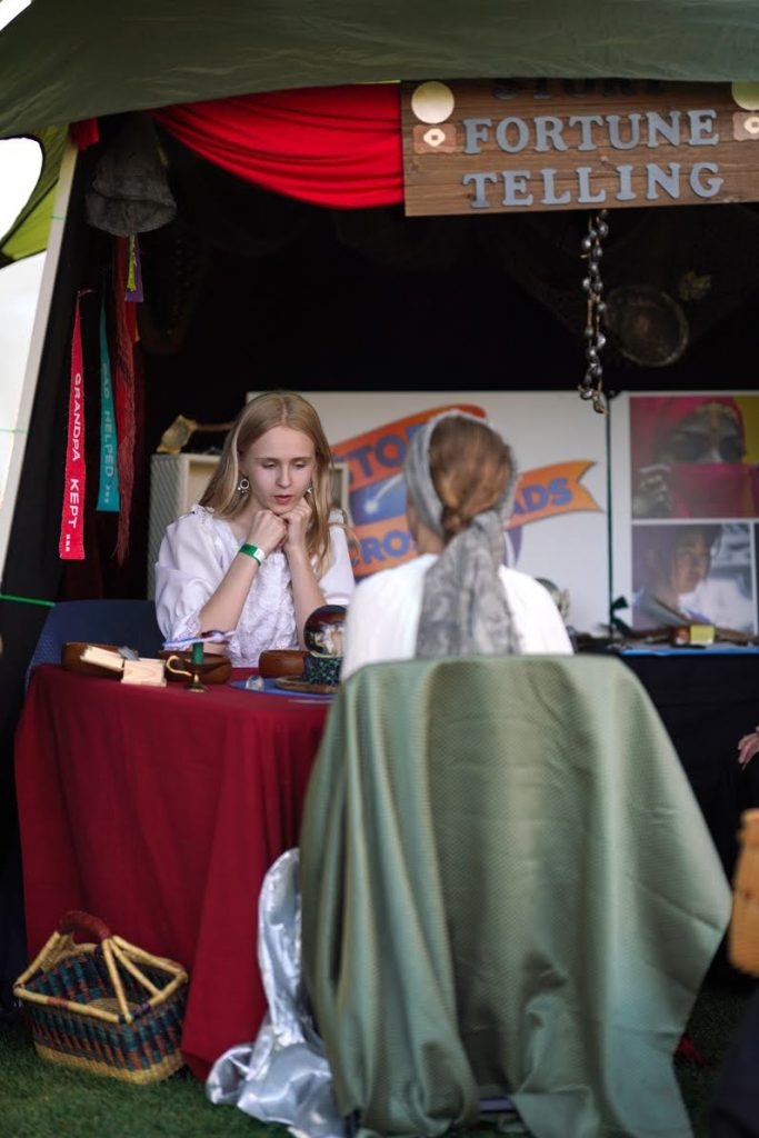 Fortune telling tent
