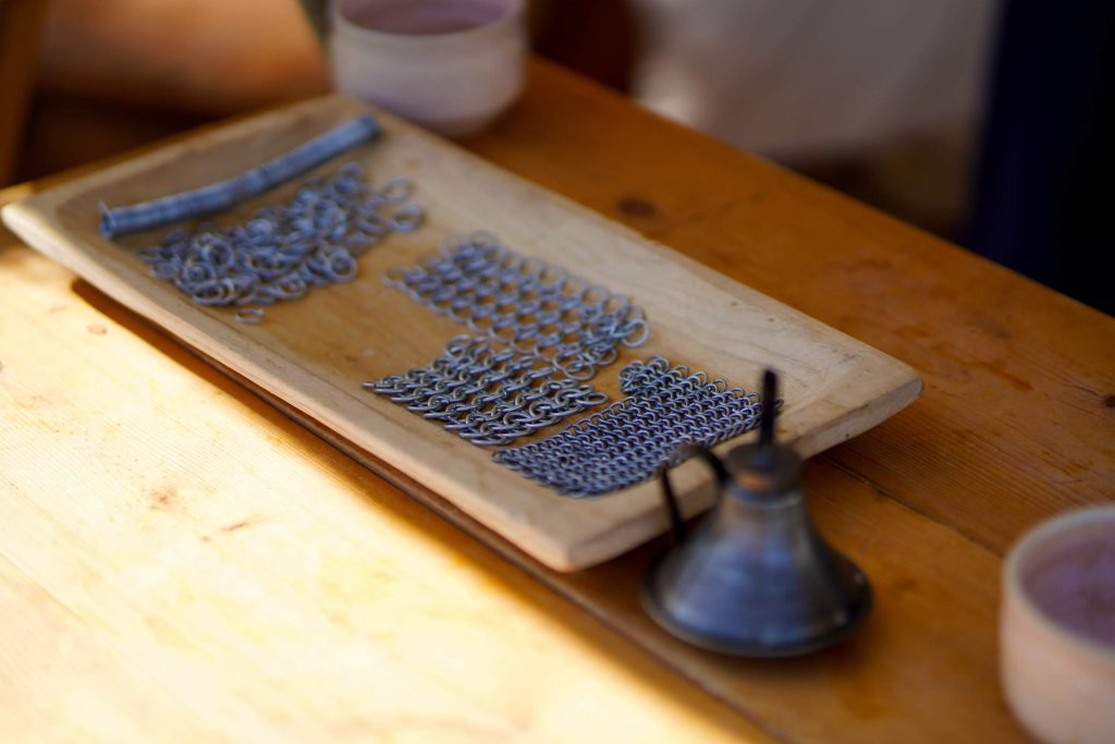 Chain mail making
