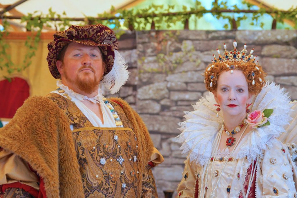 King Henry VIII and Queen Elizabeth